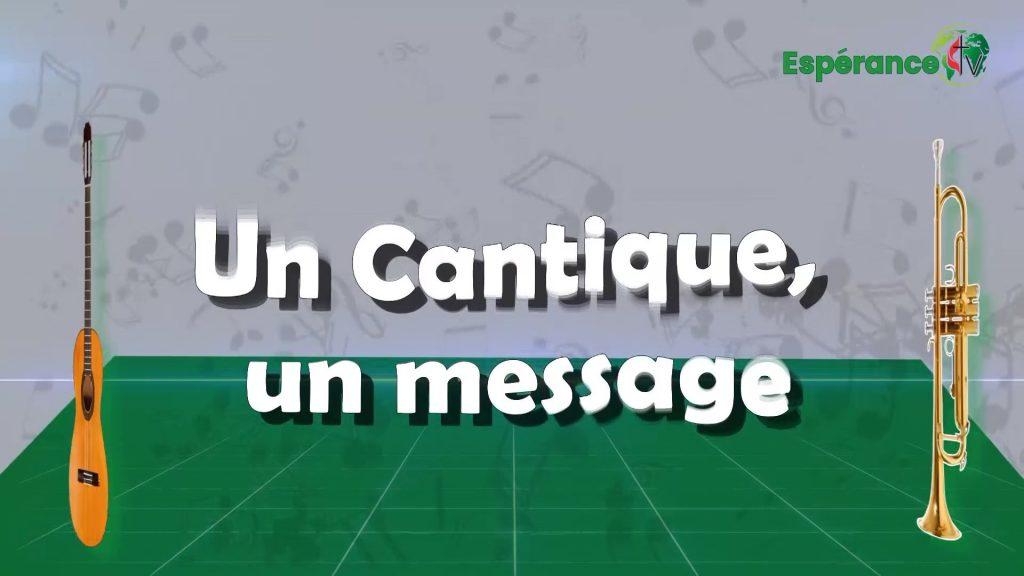 UN CANTQUE UN MESSAGE